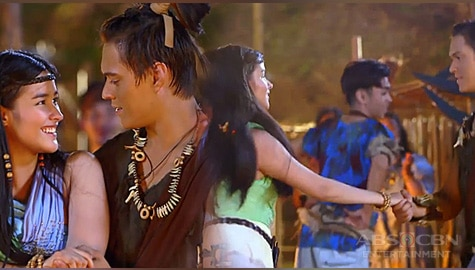 WATCH: Lakas & Ganda's first dance | Bagani Image Thumbnail