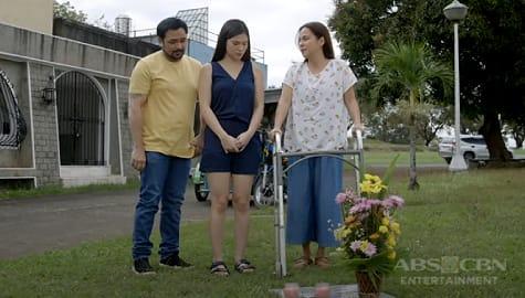 Monica at Jose, dinala si Cai sa puntod ng kanyang kakambal   Bagong Umaga Image Thumbnail