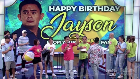 Banana Sundae: Jayson Gainza celebrates birthday with his Banana Sundae family Image Thumbnail