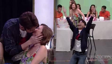 Ryan Bang, nakatanggap ng birthday kiss kay Angelica sa Banana Sundae! Image Thumbnail