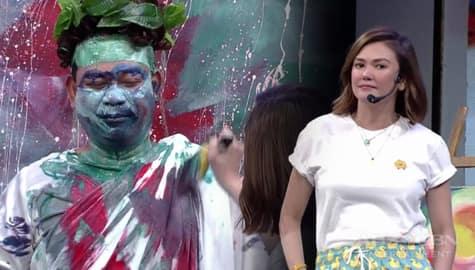 WATCH: Angelica, may LIVE painting sa Banana Sundae! Image Thumbnail