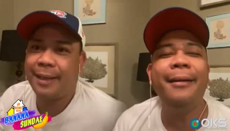 Kuya Jobert, sinapian ni Julius? | At Home with Banana Sundae Image Thumbnail