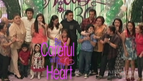 Be Careful With My Heart Cast sing