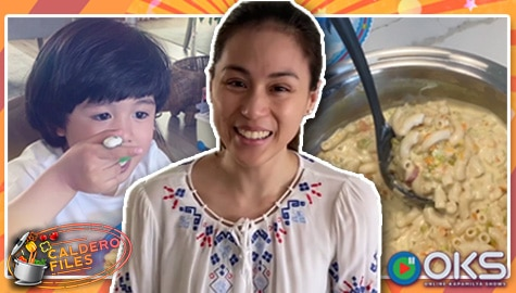 Caldero Files: Seve, magustuhan kaya ang Mac and Cheese Sopas ni mommy Toni? Image Thumbnail