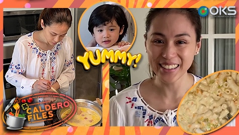 Caldero Files: Toni Gonzaga's Mac and Cheese Sopas recipe