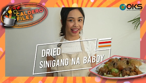 Caldero Files: Maymay Entrata's Dried Sinigang na Baboy recipe