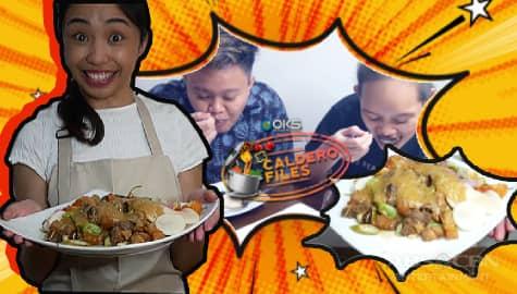 Caldero Files: Maymay, ipinatikim na ang kanyang Dried Sinigang na Baboy sa kanyang mga best friend Image Thumbnail