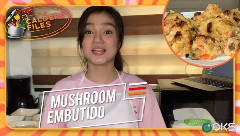 Caldero Files: Belle Mariano's Mushroom Embutido recipe Thumbnail
