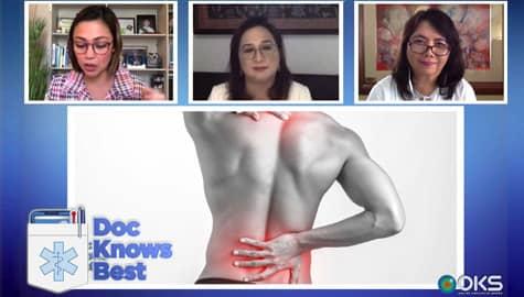 WATCH: Nakararanas ng back pain? Alamin kung kailan dapat magpakonsulta sa doktor sa Doc Knows Best! Thumbnail