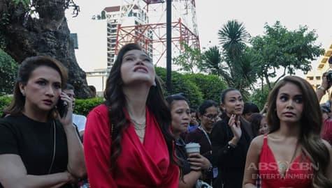 Cast ng 'Sino ang Maysala?' lumabas ng gusali ng ABS-CBN dahil lindol Image Thumbnail