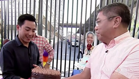 George Cariño celebrates birthday with son Paulo and UKG family Image Thumbnail