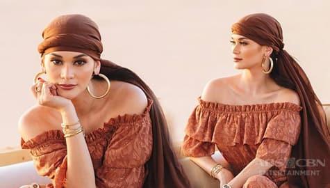 Pia Wurtzbach, nag-ala Princess Jasmine sa kanyang photos sa Dubai Image Thumbnail
