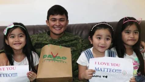 Matteo Guidicelli, binisita ang mga sugatang sundalo sa Davao City Image Thumbnail