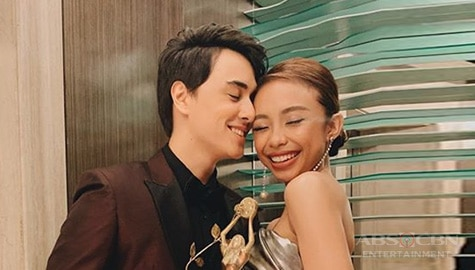 Edward Barber, nagbigay ng cute na birthday message kay Maymay Entrataa Image Thumbnail