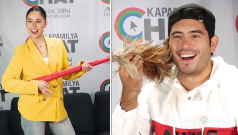 Julia Barretto vs Gerald Anderson in Kapamilya Chat's ACThing Challenge Image Thumbnail