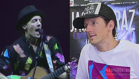 TV Patrol: Grammy winner Jason Mraz, hinarana ang pinoy fans sa kanyang 'Good Vibes Tour' Image Thumbnail