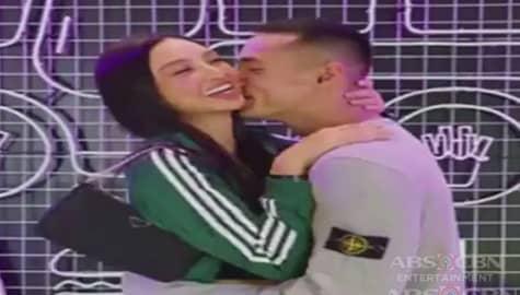 Jake Cuenca at Kylie Verzosa, ipinakita ang kanilang first online kiss Image Thumbnail