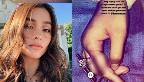 Liza Soberano, lumipad sa US para ipaopera  ang kanyang fractured finger Image Thumbnail