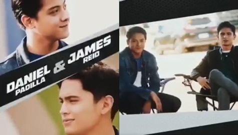 Daniel Padilla at James Reid, magsasama sa action-packed project Image Thumbnail