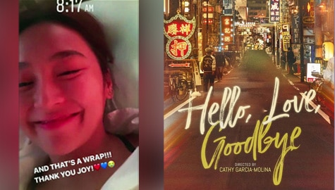 Shooting ng pelikulang 'Hello, Love, Goodbye', tapos na Image Thumbnail