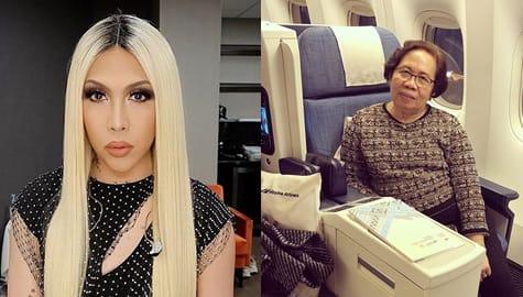Maginhawang Buhay, ipinangako ni Vice Ganda sa kanyang Nanay Rosario Image Thumbnail
