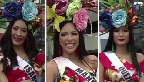 Mga kandidata ng BB. Pilipinas 2019, inabangan sa parade of beauties Image Thumbnail