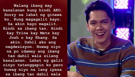 Carlo Aquino, nanawagan sa netizens na tigilan na ang pamba-bash sa kanyang girlfriend Image Thumbnail