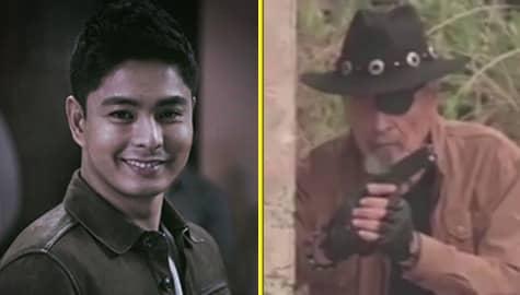 Coco Martin, ibinahagi ang ilang behind-the-scene videos ni Eddie Garcia sa FPJ's Ang Probinsyano Image Thumbnail