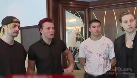"""TV Patrol: Australian Band na """"5 Seconds of Summer"""", balik Pinas para sa isang exclusive show Image Thumbnail"""