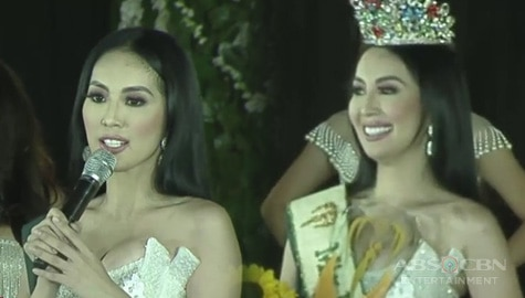 TV Patrol: TV host na si Janelle Tee, kinoronahang Miss Philippines Earth 2019 Image Thumbnail