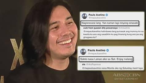 TV Patrol: Paulo, nag-trending dahil sa mga hirit sa Twitter Image Thumbnail