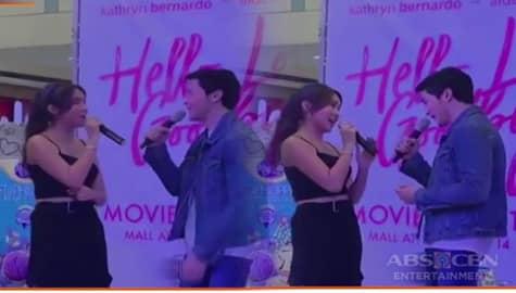 Kathryn at Alden, kinakiligan ng fans sa kanilang duet ng kantang 'Kung Di Rin Lang Ikaw' Image Thumbnail