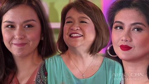 Tita Winnie Cordero, napanood sa cooking showdown nina Romina at Daniela Image Thumbnail