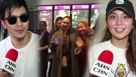"""TV Patrol: Mga Pinoy sa Middle East, sumugod sa mga sinehan upang manood ng screenings ng """"Hello Love Goodbye"""" Image Thumbnail"""