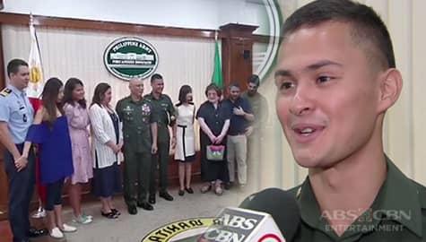 TV Patrol: Matteo Guidicelli, ganap nang 2nd Lieutenant ng PH Army Image Thumbnail