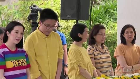 TV Patrol: Ika-36 death anniversary ni Ninoy, ginunita ng pamilya Aquino, malalapit na kamag-anak at kaibigan Image Thumbnail