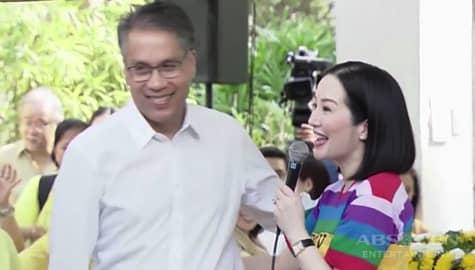 TV Patrol: Kris Aquino, sinamantala ang pagkakataon para makipagbati kay dating DILG sec. Roxas Image Thumbnail
