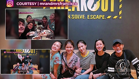 PBB Otso Gold host, nag-bonding Image Thumbnail
