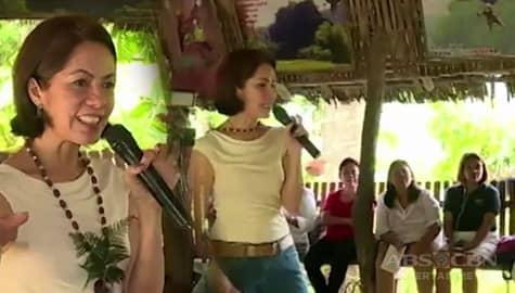 Adbokasiya ni Gina Lopez, inspirasyon para sa mga katutubo at ilang lider ng Palawan Image Thumbnail