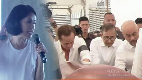 Labi ni Gina Lopez, sinalubong ng daan-daang kapamilya sa kanyang memorial service sa ABS-CBN Image Thumbnail