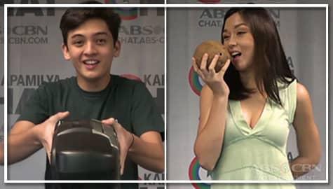 Beauty vs Seth in Kapamilya Chat's ACThing Challenge Image Thumbnail