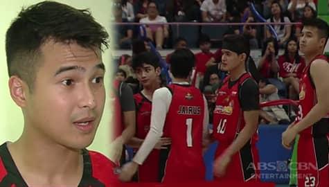 TV Patrol: Team ni Jerome Ponce, wagi vs Team Elmo sa New Breed basketball game, 46-42 Image Thumbnail