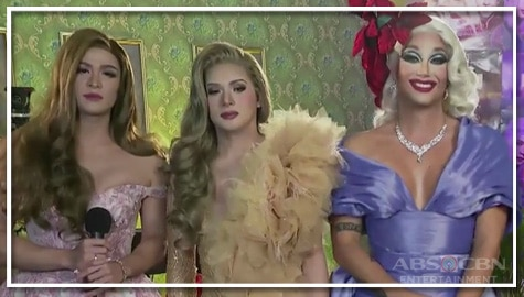 TV Patrol: Paolo Ballesteros, Christian Bables at Martin Del Rosario, pinangunahan ang premiere night ng 'The Panti Sisters'