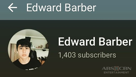 Edward Barber, may sarili nang YouTube channel Image Thumbnail