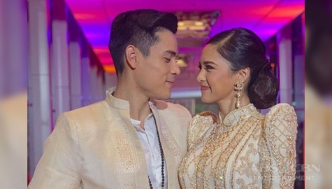 Umagang Kay Ganda: Xian Lim, binuhat si Kim Chiu sa ABS-CBN Ball Image Thumbnail