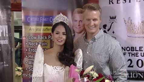 TV Patrol: Patricia Javier at iba pang mga Pinay na misis, nagtagisan sa kani-kanilang pageant Image Thumbnail