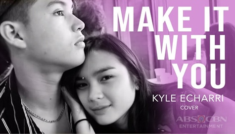 Umagang Kay Ganda: Kyle Echarri, Ibinida ang 'Make It With You' cover kasama si Francine Diaz Image Thumbnail