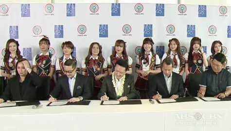 MNL48, pumirma ng kontrata sa Kapamilya Network Image Thumbnail