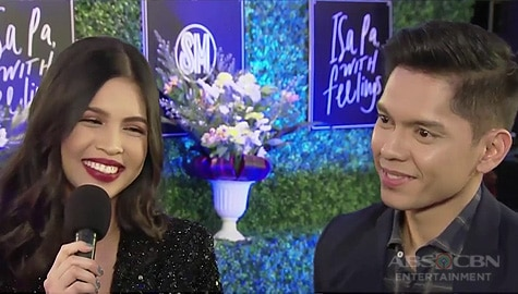 "TV Patrol: Carlo Aquino and Maine Mendoza, pinangunahan ang premiere night ng ""Isa Pa With Feelings"" Image Thumbnail"