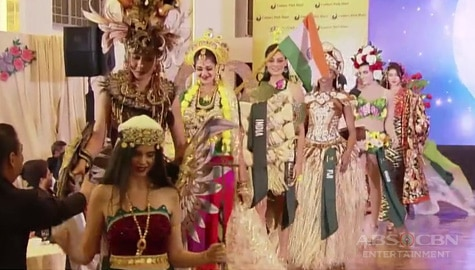 TV Patrol: Ms. Earth Candidates, nagpasiklaban sa National Costumes Competition Image Thumbnail